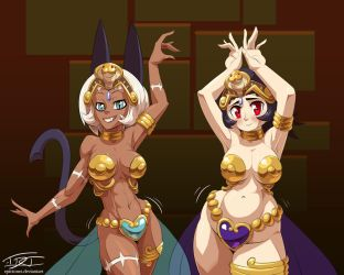 Skullgirl Space Princesses I (Comm'd) by EpicTones