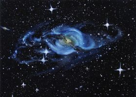 NGC 3718 by crazycolleeny