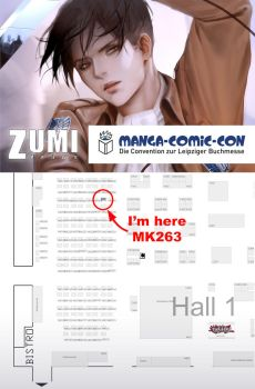 Manga-Comic-Con (at the Leipziger Book Fair) by zumidraws
