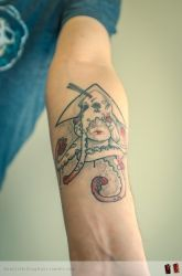 octopus for arm tatoo 2 by RemiisMeltingDots