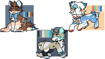 [closed] palette adoptables auction by puddinqcup