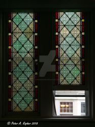 Reformed Church of New Paltz - Interior  by peterkopher