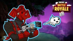 Fortnite BR Gorillaphent RedKnight by LordMaru4U