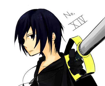Xion Sketching by Clover-Cat4