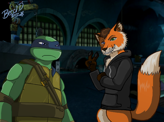 Leo doesn't like Foxes by Mysterious-D