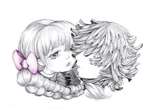 Howl and Sophie by camilladerrico