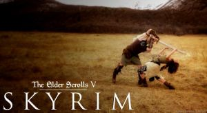 Skyrim Lindsey Stirling Peter Hollens by vhesketh