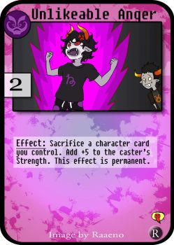 Homestuck PAPCG: Unlikeable Anger by iwantcandy2