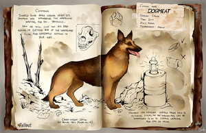 Dogmeat Dossier by Pilocre