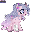 Palette Pony adopt [CLOSED] by TreeGreen12