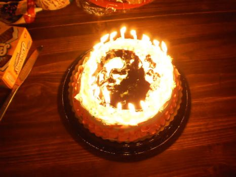 Snape Birthday Cake Candles by HeroVictimVillain