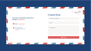 Contact form for website by jozef89