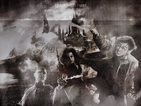 Harry Potter - Wallpaper by casscifer