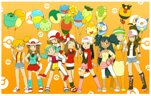 1M hits Pokemon girls