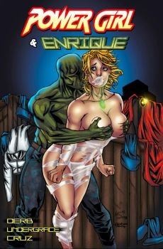 PowerGirl and Enrique by undergrace777