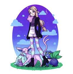 Pokemon Trainer by Chance-To-Draw