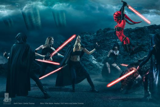 Sith Battle by Danica-Rockwood