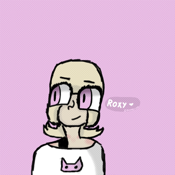 Roxy Lalonde by InvaderFlo