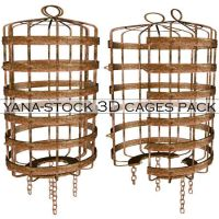 3D Stock - Cage Pack by yana-stock
