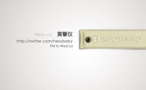 BusinessCard by hexybaby