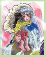 Safety, InuYasha by AmberPalette