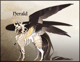[Dullah Adopt auction] The Golden Herald [CLOSED] by Negatable