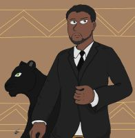 T'Challa by she-wolf99