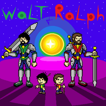 Walt and Ralph by DeliriousAL