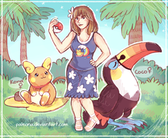 Trainer Laura by Paleona