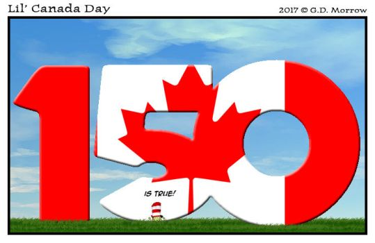 Lil' Canada Day 2017 by DrOfDemonology