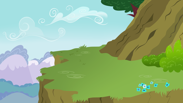Cliff Background by Crystal-Ice9201