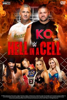 WWE Hell in a Cell 2017 Poster by Chirantha