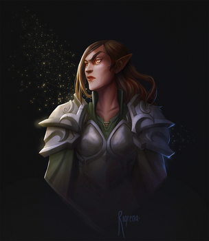 The grand paladin curse by Rigrena
