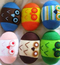 Owl Ball Plushes by P-isfor-Plushes