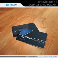 Premium Business Card Mockup by InfiniteCreations