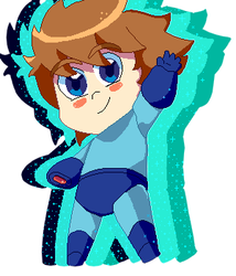 Old Megaman Sprite by Js-Kl