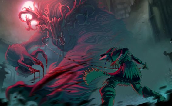 Cleric Beast by painted-bees