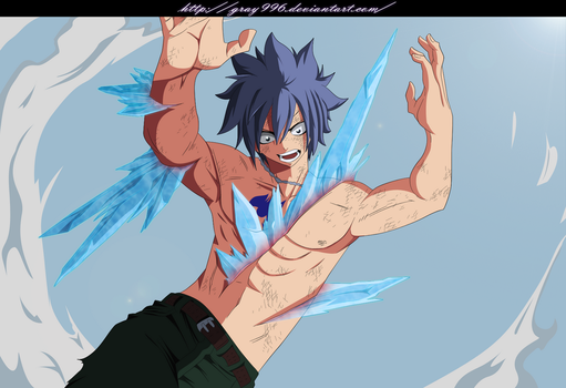 Gray Fullbuster Fairy Tail 391 by Gray996