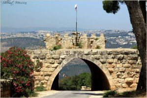 Entrance on mount Tabor 2 by ShlomitMessica