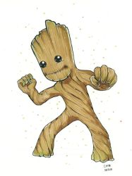 Baby Groot by ChibiNeo