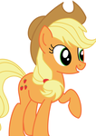 Applejack Vector by ShedShyIsCool
