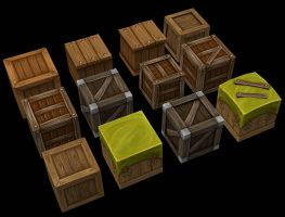 Small Boxes by Jimpaw