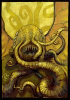 Cthulhu commission 2 by zyphryus