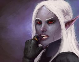 Drow by StoryKillinger