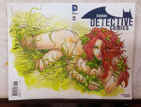 Poison Ivy cover commish by premiroklase