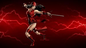 Elektra Wallpaper - Electric by Curtdawg53