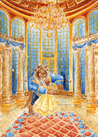 ACEO Beauty and the Beast by Eternal-Rainbow