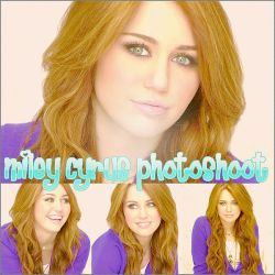 Miley Cyrus Photoshoot by MyeditionsROCK