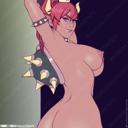 Bowsette Boobs by MilaTheMute