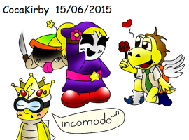 R-incomodo xD by cocakirby
